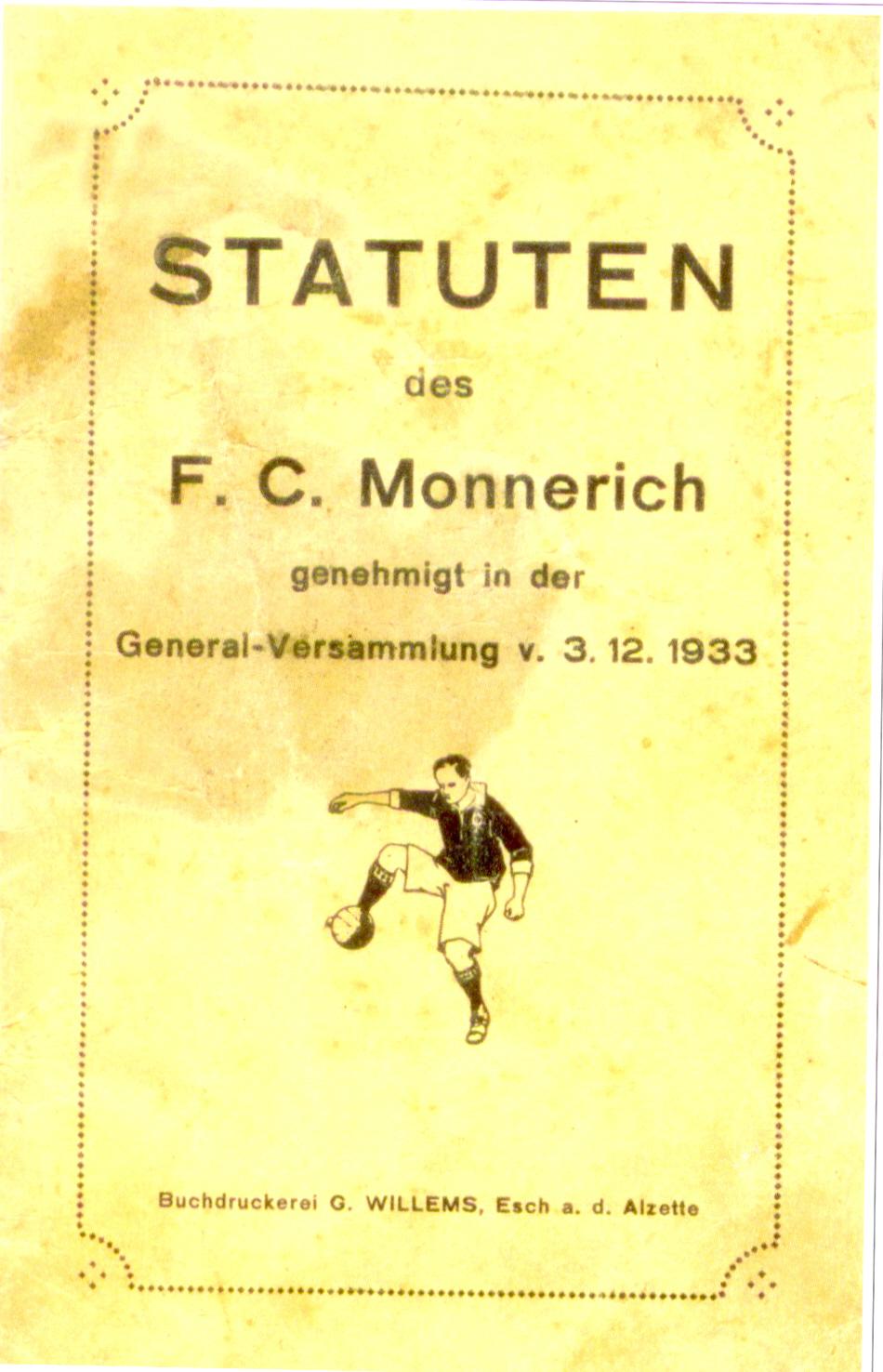 Statuten FC Monnerech
