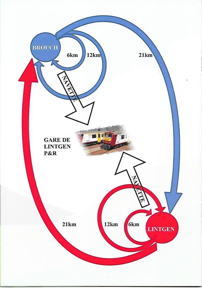 BROUCH & LINTGEN FLMP IVV Gemeinsame Wanderungen + Marathon