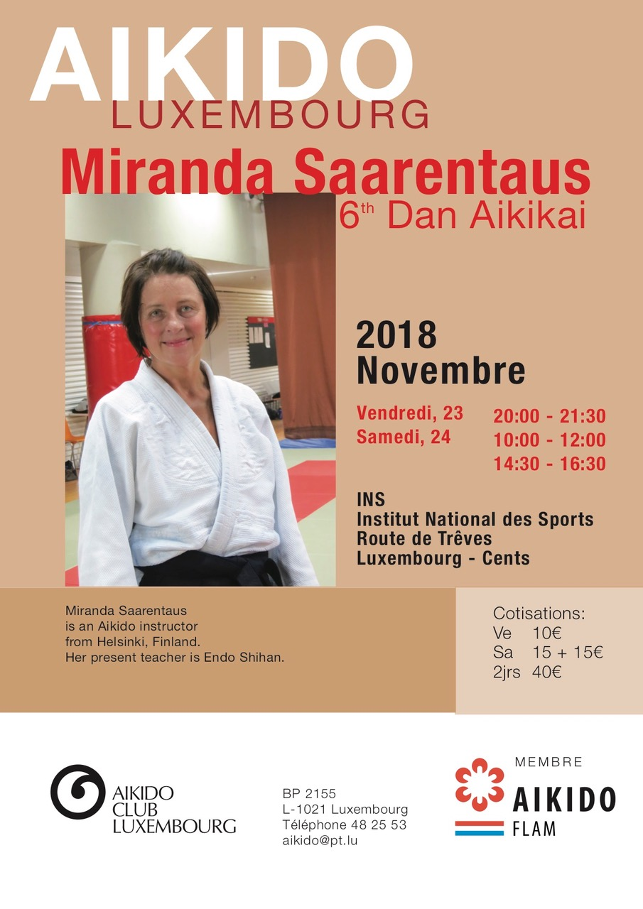 Miranda Saarentaus, 6e DAN