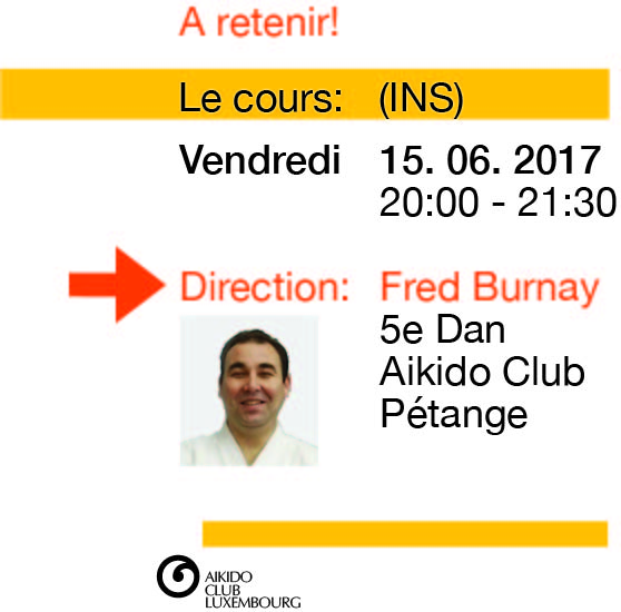 Fred BURNAY, 5e DAN