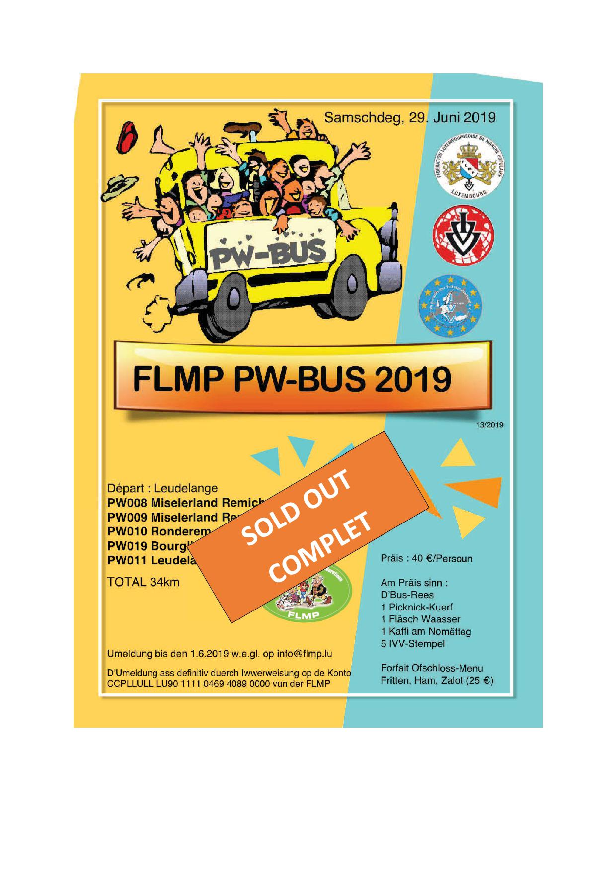FLMP PW-BUS 2019