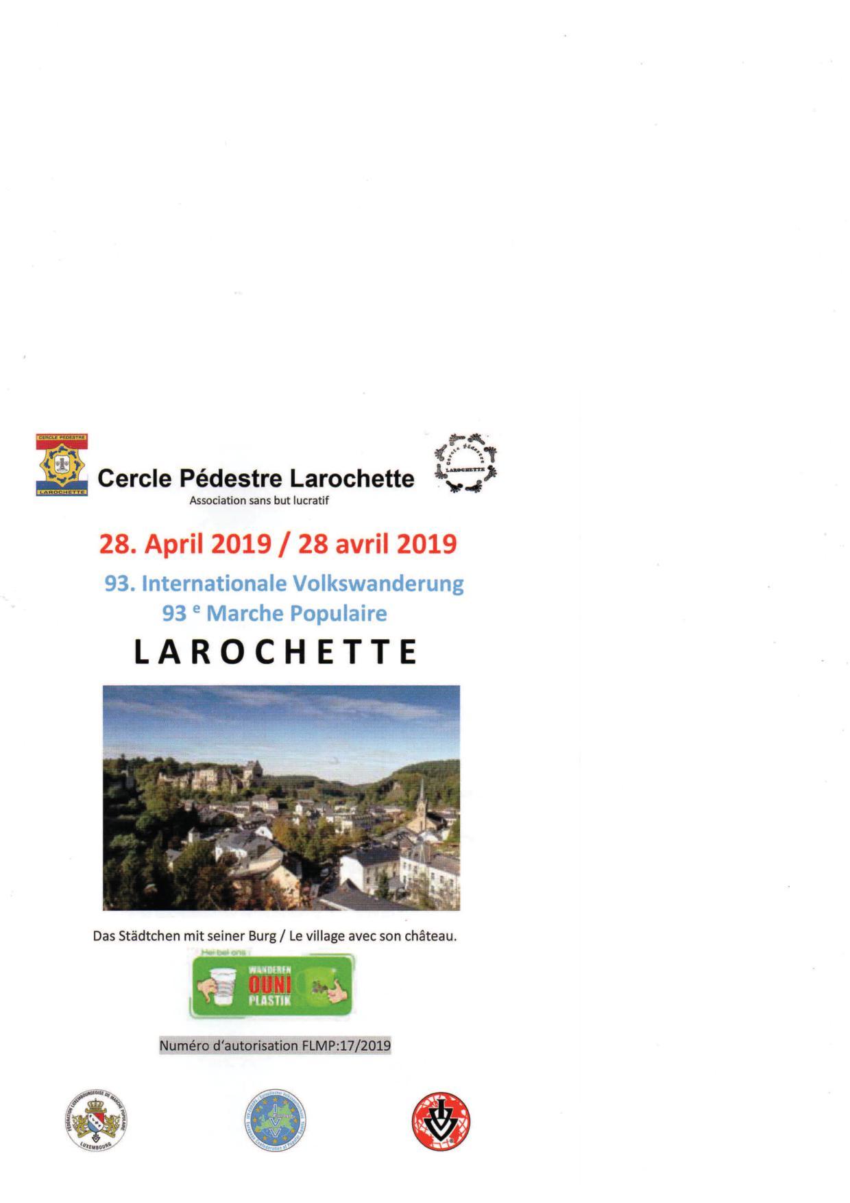 LAROCHETTE FLMP IVV WANDERUNG