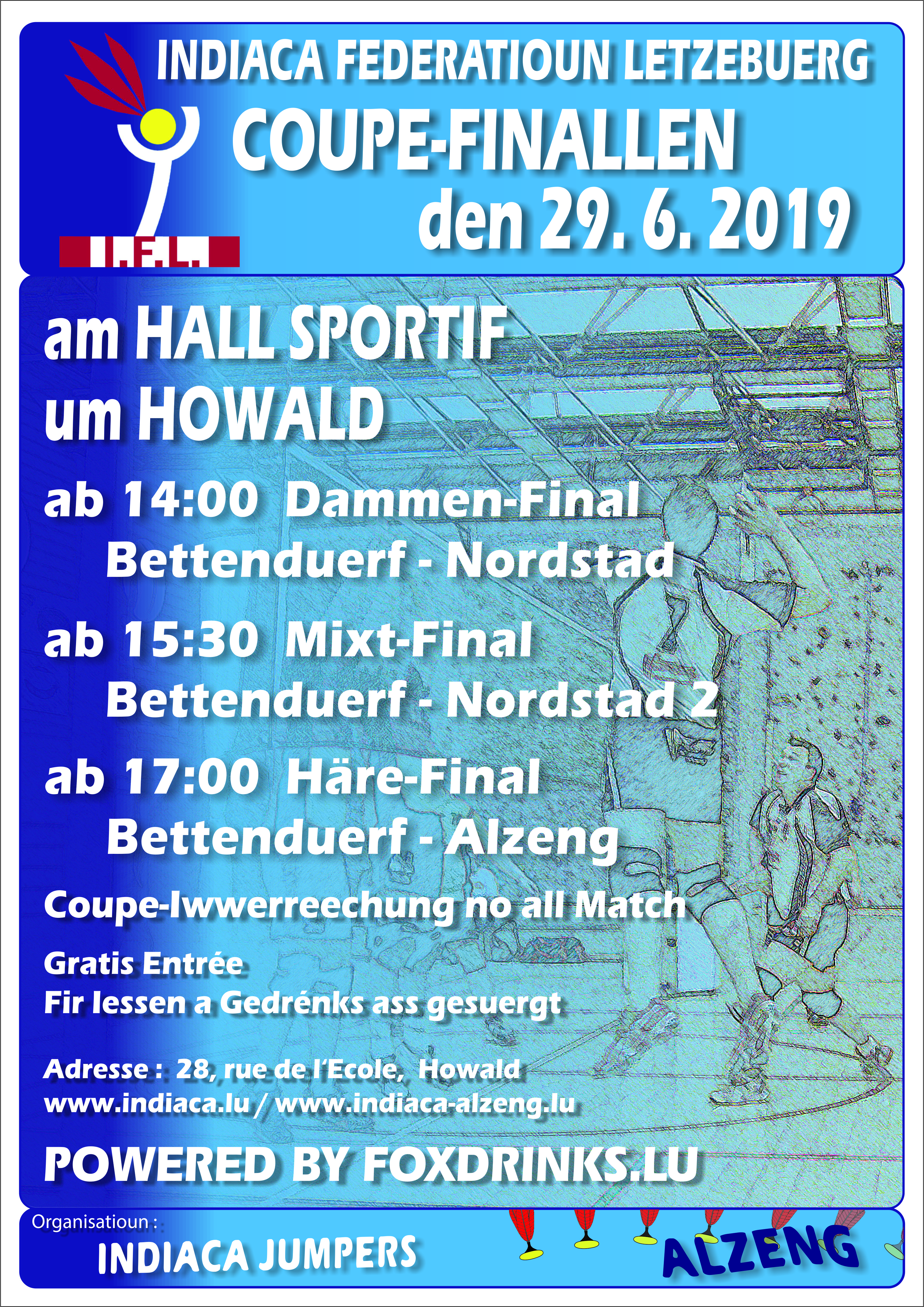 Coupe de Luxembourg um Howald
