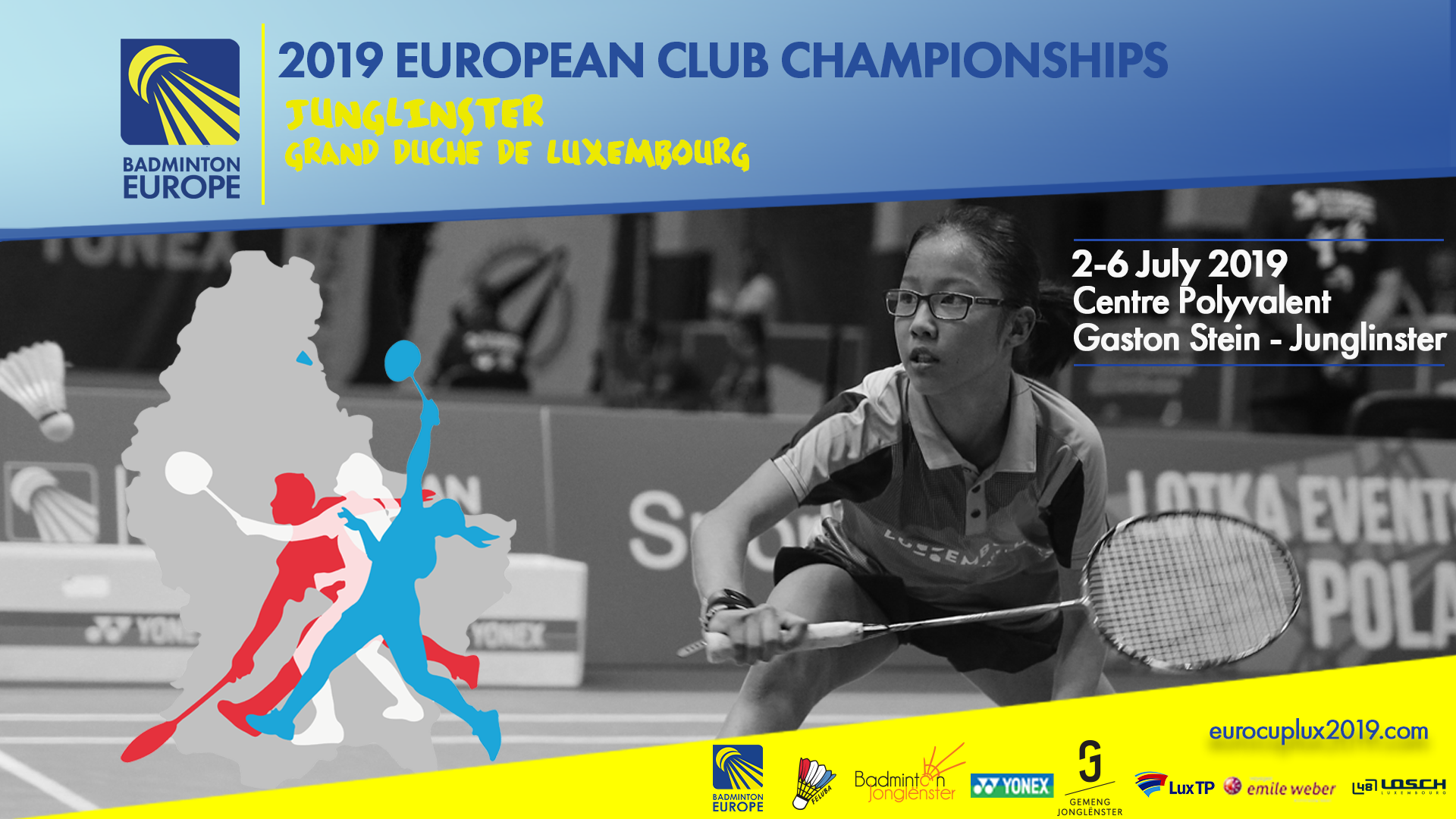 European Club Championships : preliminary rounds at 10h, 14h and 18h