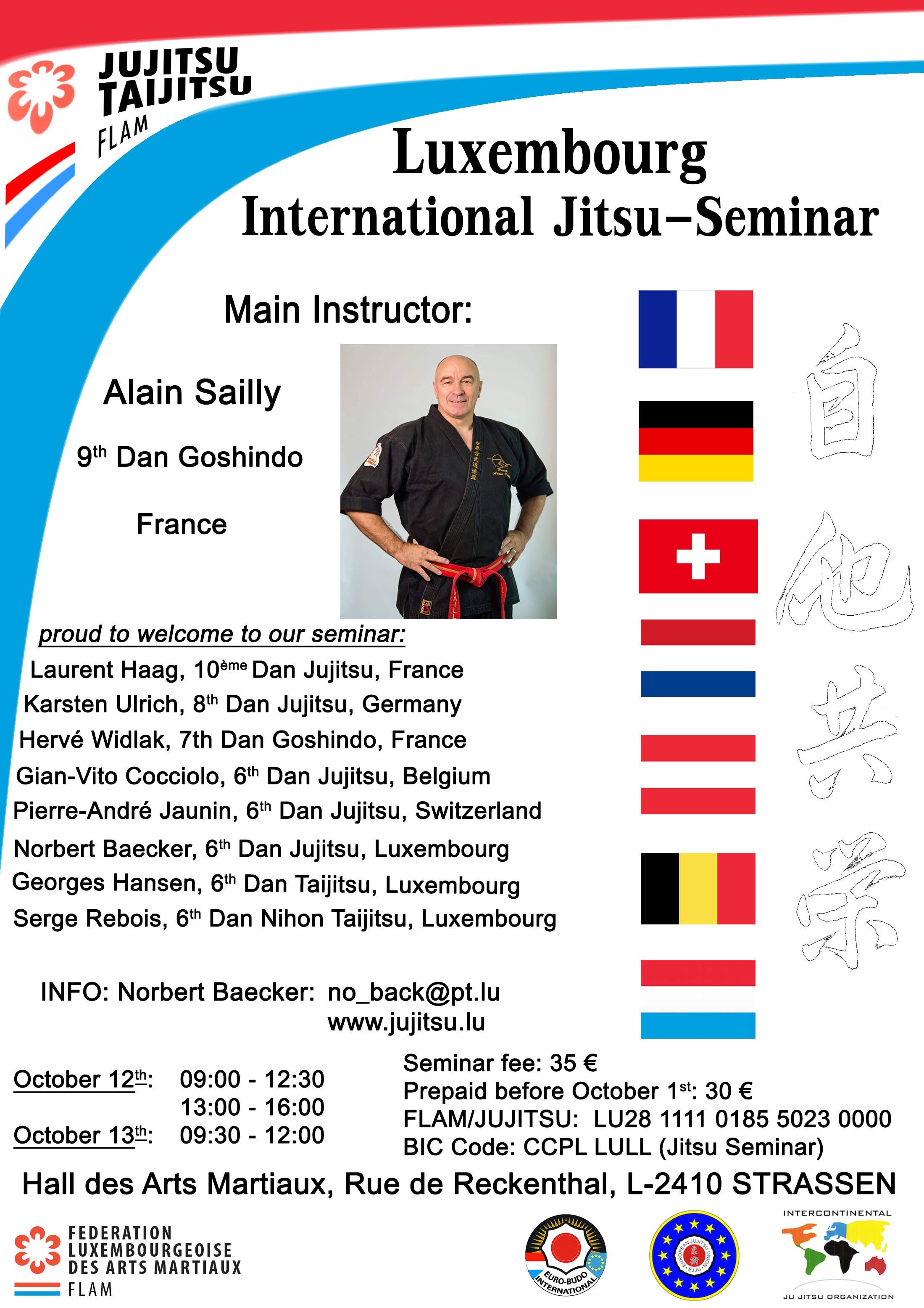 Luxembourg International Jitsu Seminar