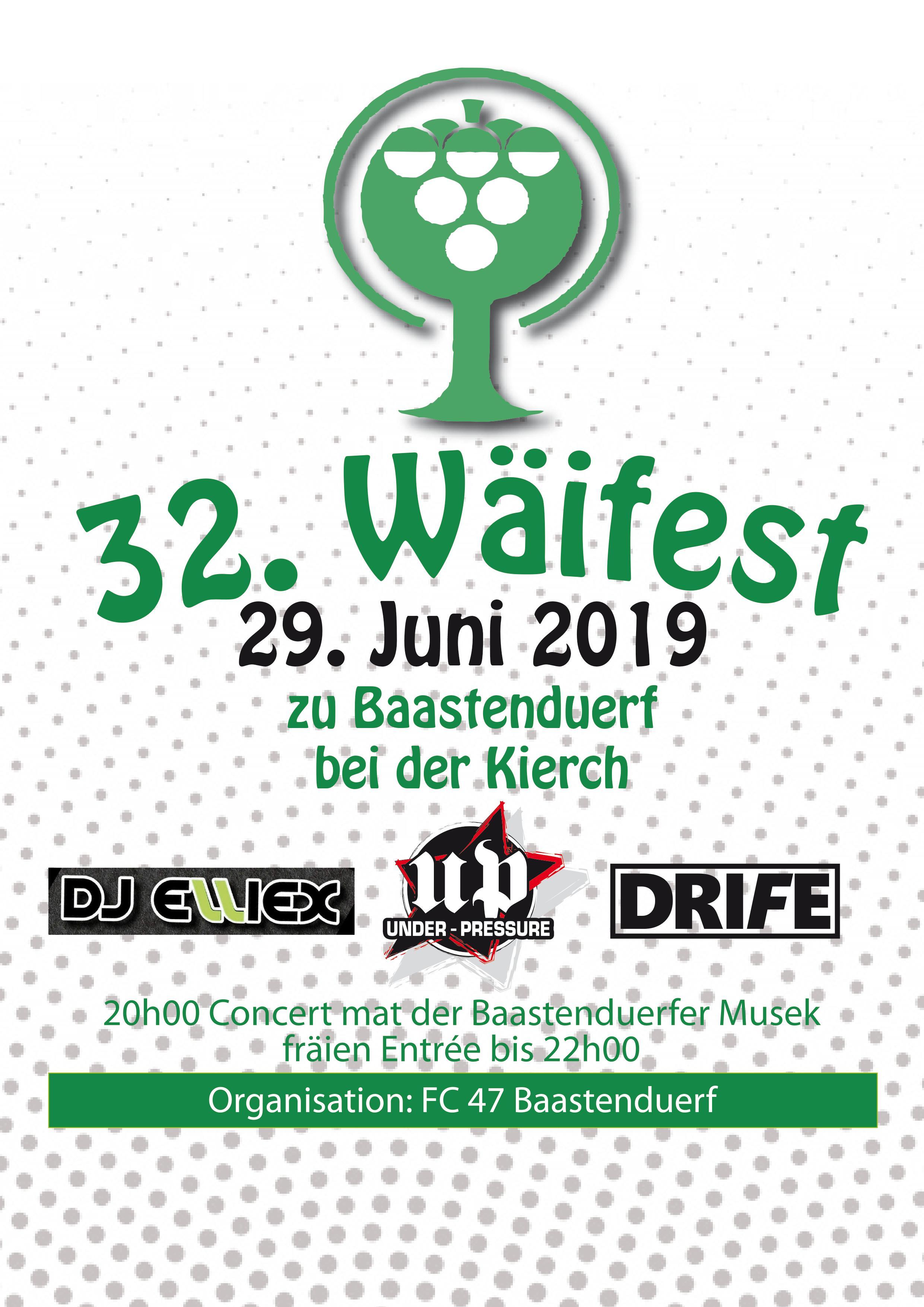 Wäifest 2019