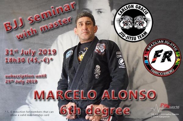 BJJ Seminar avec Marcelo ALONSO