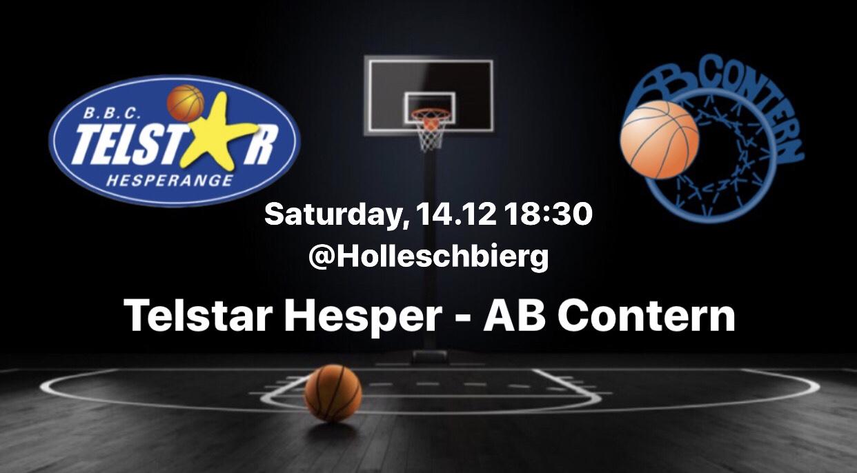 Dames A: Telstar - AB Contern