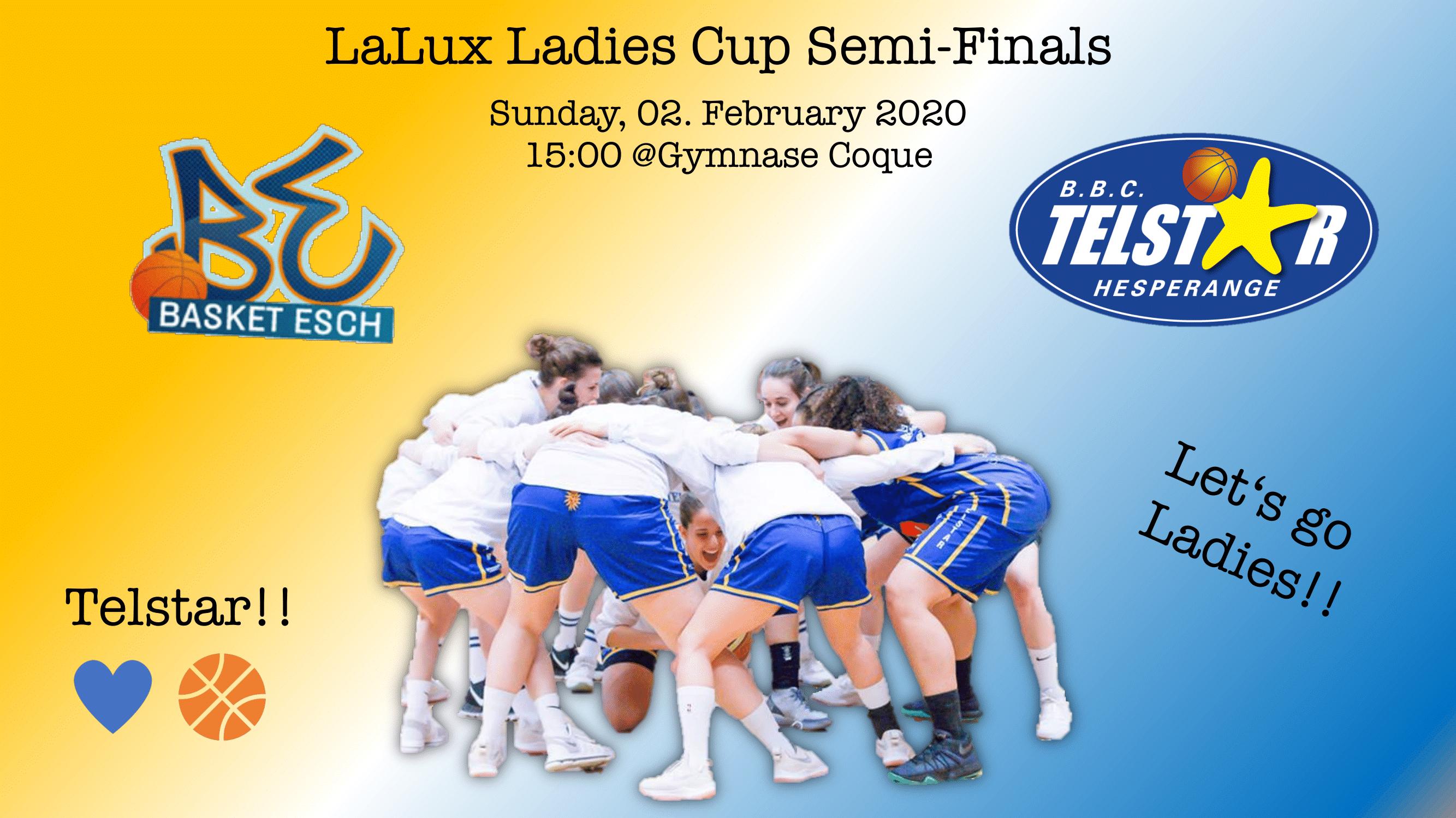 LaLux Ladies Cup 1/2 Final: Esch - Telstar