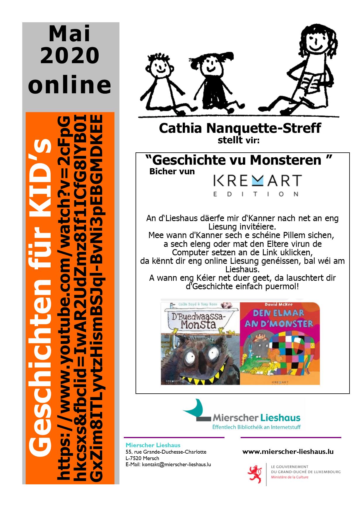 """""""Geschichte vu Monsteren """""""