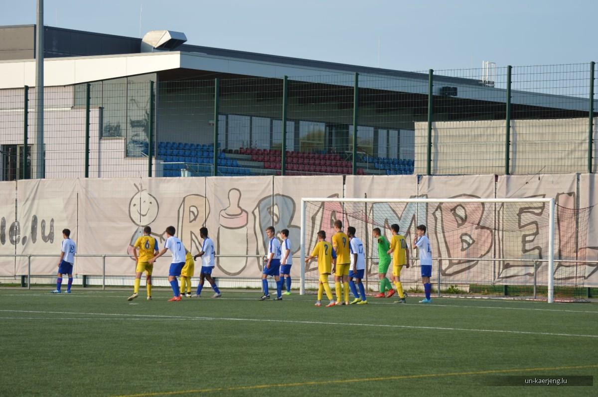 U17: UNK - Belval Belvaux (9-1)