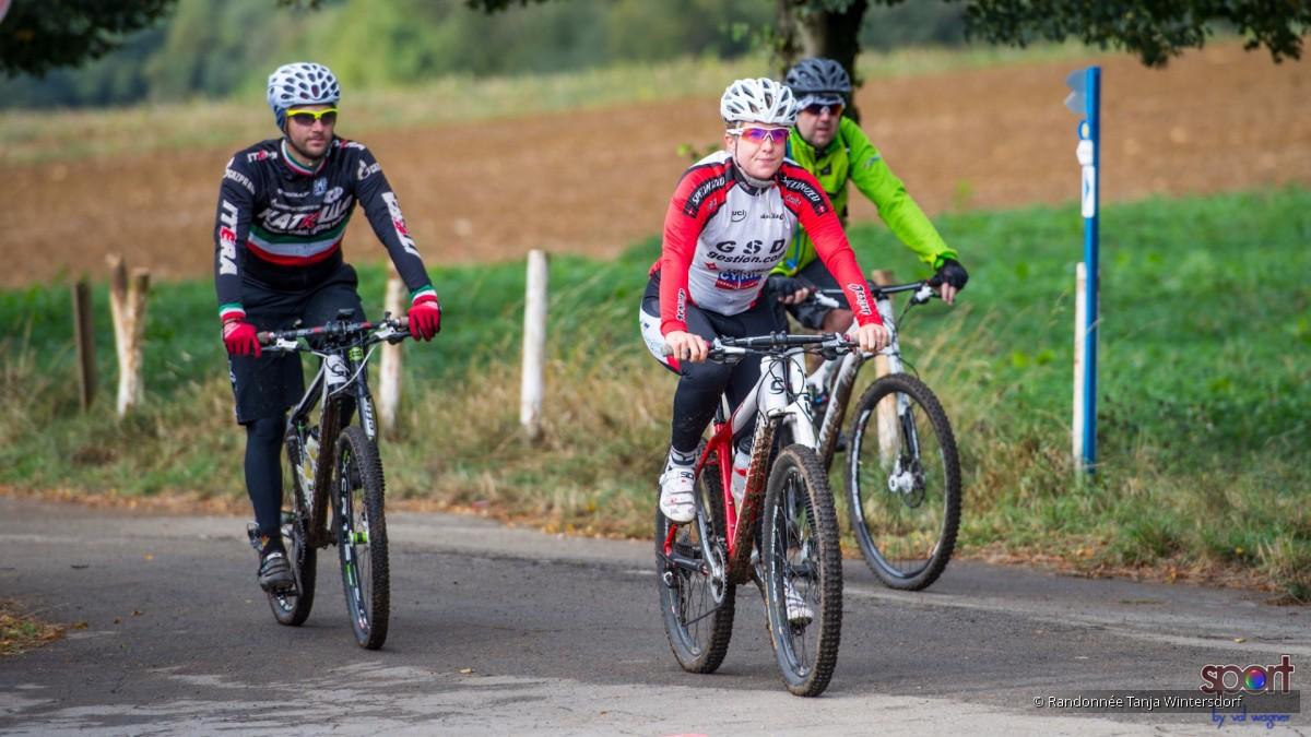 5 randonnée VTT Tanja Wintersdorf 2016 Soleuvre /Scheierhaff