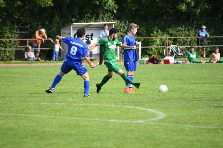 Fusseberg Kickers Helpenstein vs. VfR 06 Neuss (03.09.2017)