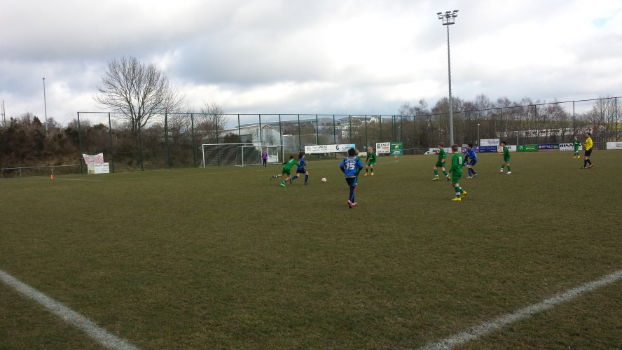 21/03/2015 U13 Racing Troisvierges vs US Hostert
