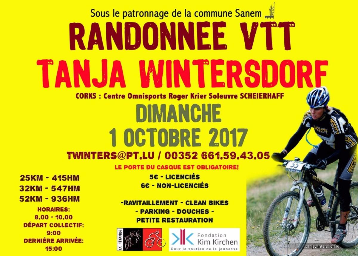 6 randonnée VTT Tanja Wintersdorf 1  octobre 2017 partie 1