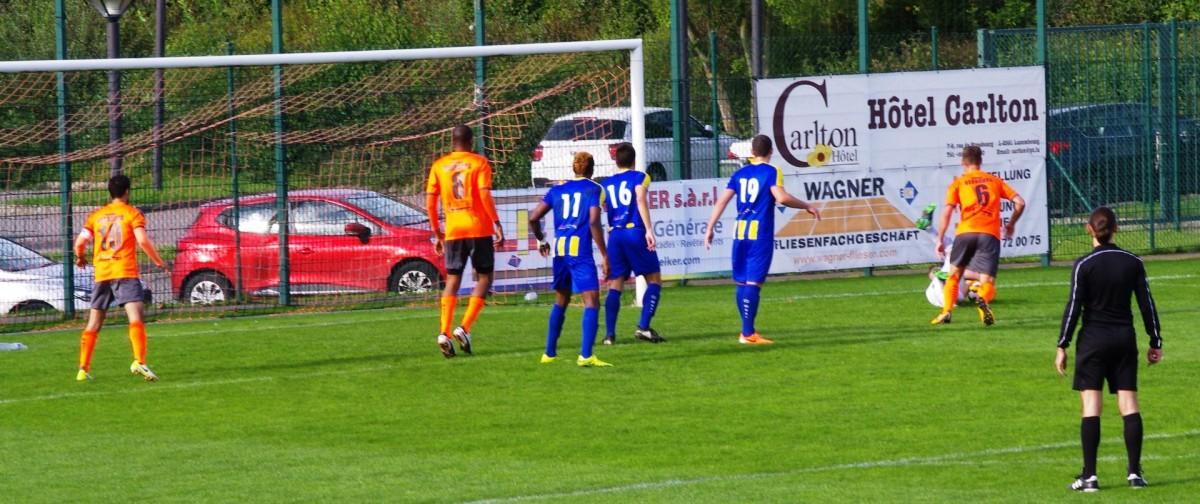 FC Berdenia Berbourg vs. FC The Belval Belvaux (01.10.2017)