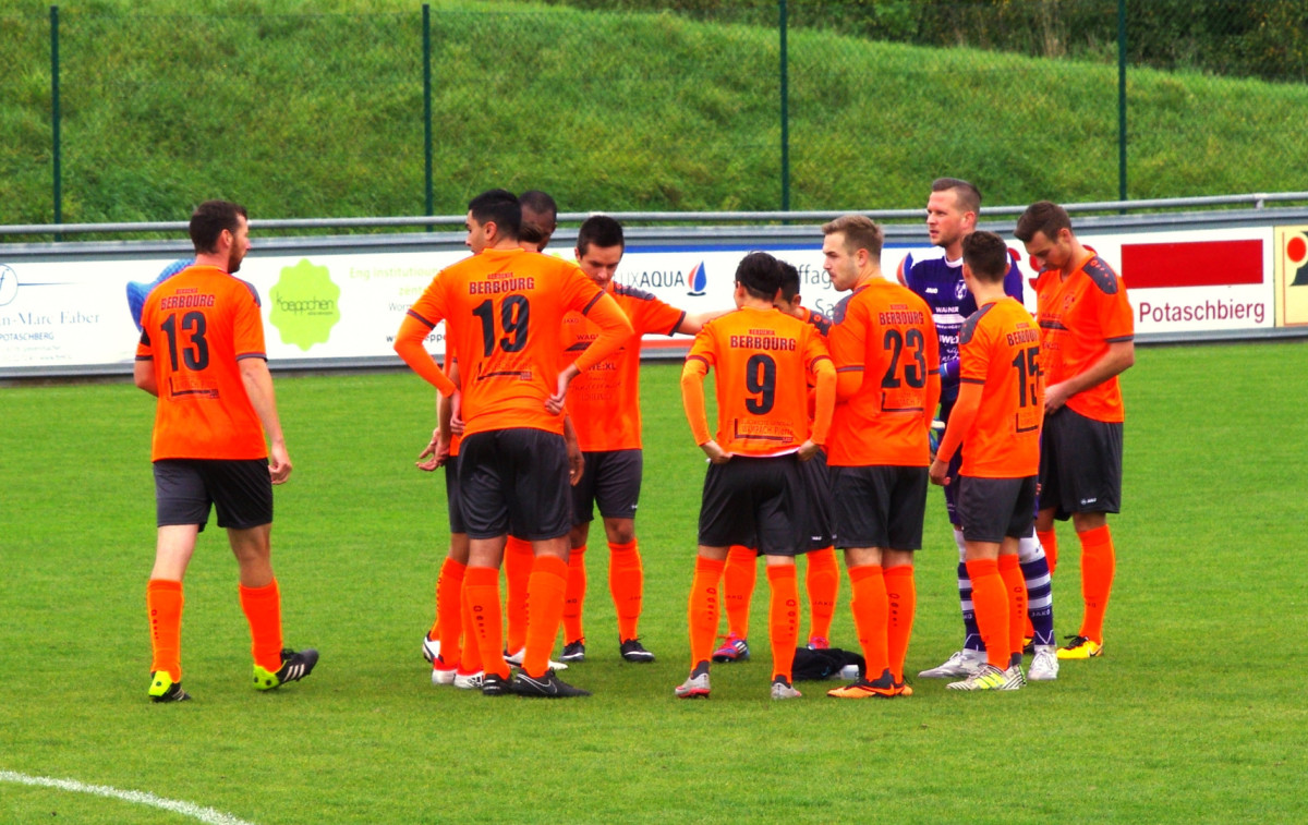FC Berdenia Berbourg vs FC Young Boys Weiler-la-Tour