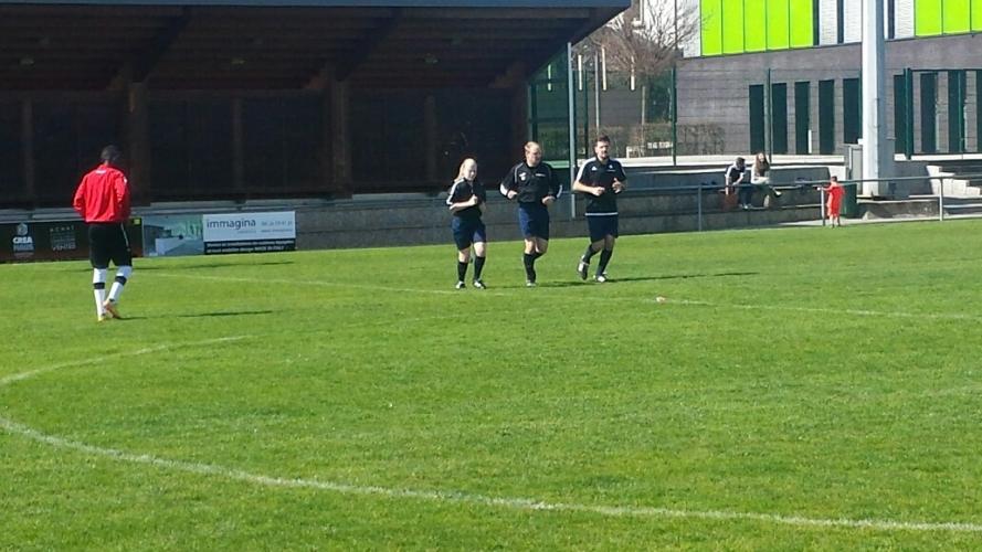 Seniors 1: Una - F91 Rodange (12.04.2015)