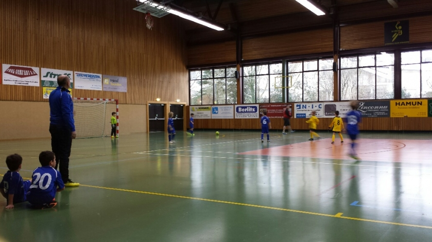 Tournoi des Jeunes à Strassen (Indoor - 31.01.2015)