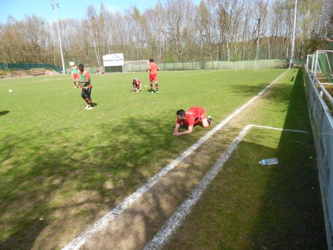 Seniors 1: FC Blue Boys Muhlenbach - Una (19.04.2015)