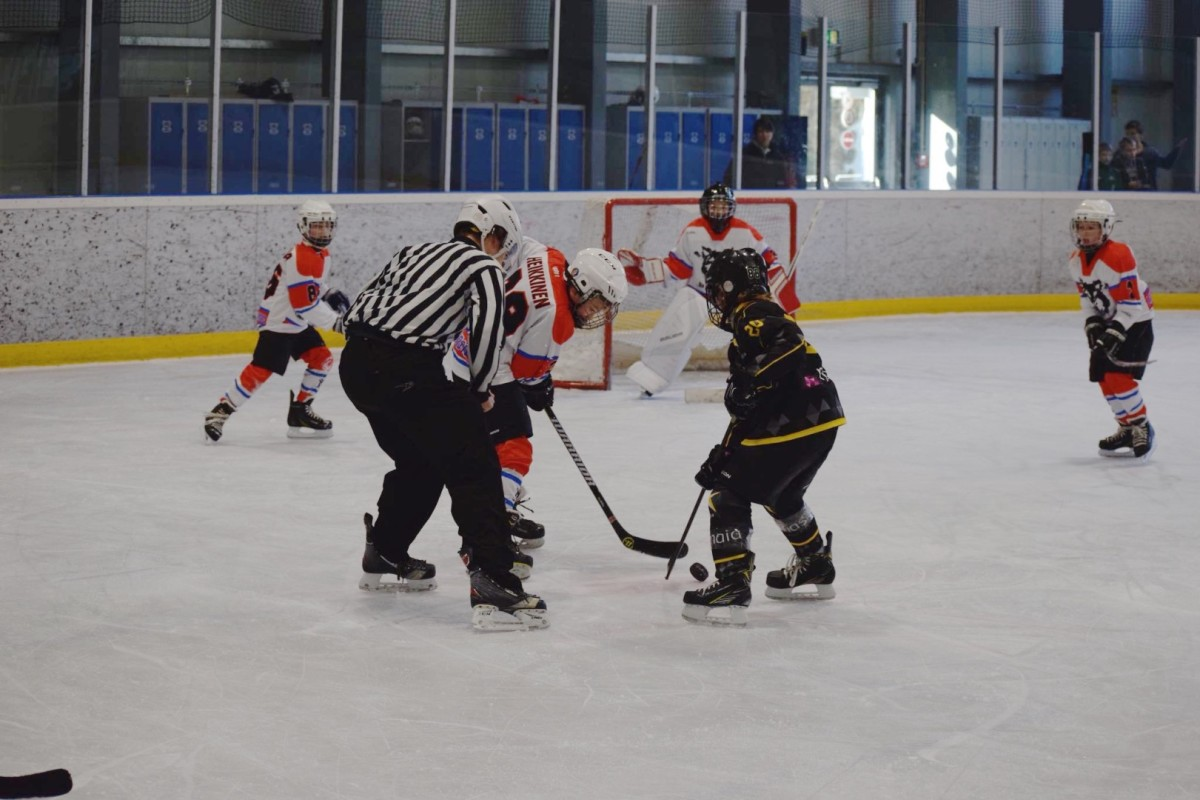U11 Huskies vs. Strasbourg 19/11 in Luxembourg