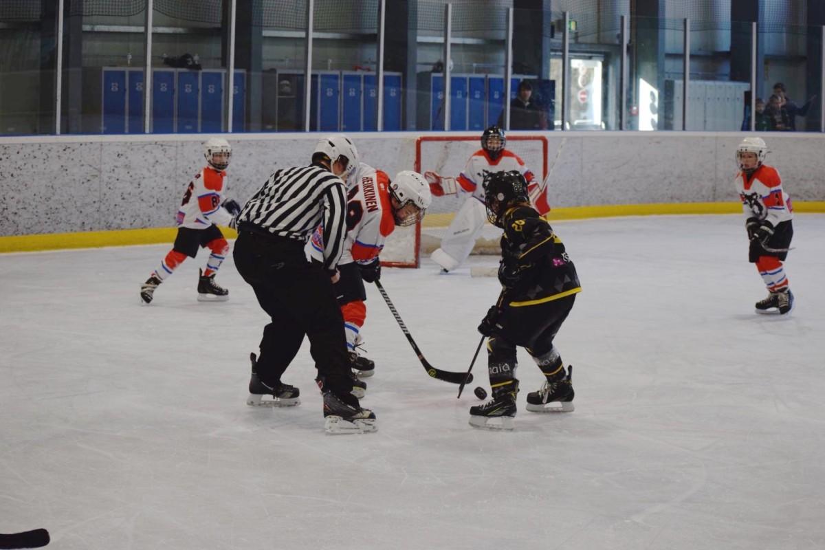 U11 Huskies vs. Strasbourg 19/11 in Luxembourg
