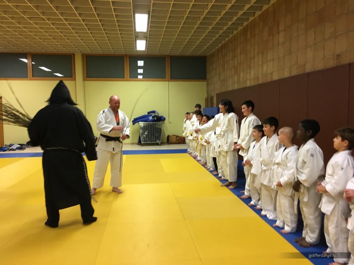 De Kleeschen beim Judo