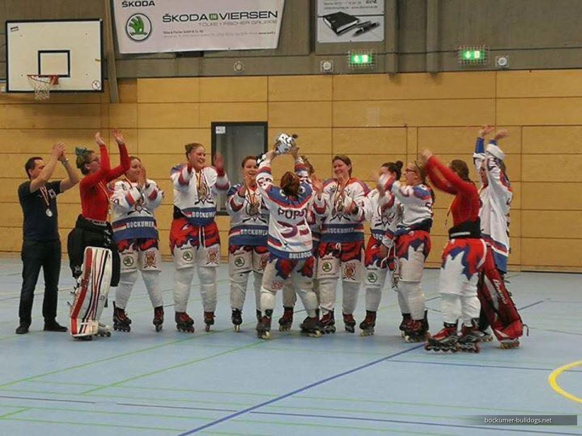 Bockumer Bulldogs from Germany won the IISHF Women European Cup 2018