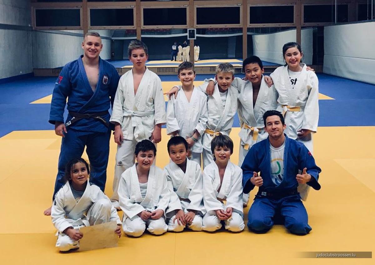 02.02.2018 Gürtelprüfung / Belt exam / Passage de grade Judo Club Stroossen