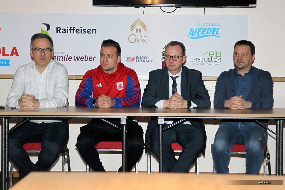Willkommen, Welcome, Bienvenu THOMAS KLASEN, nouveau coach du CS FOLA