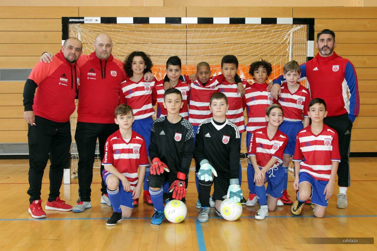 U11 LLUX finales: come on FOLA