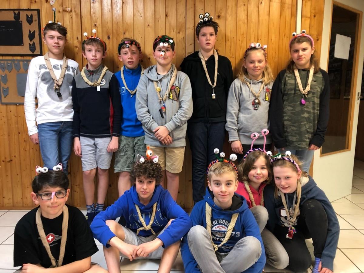Ouschtercamp Scouten 2018