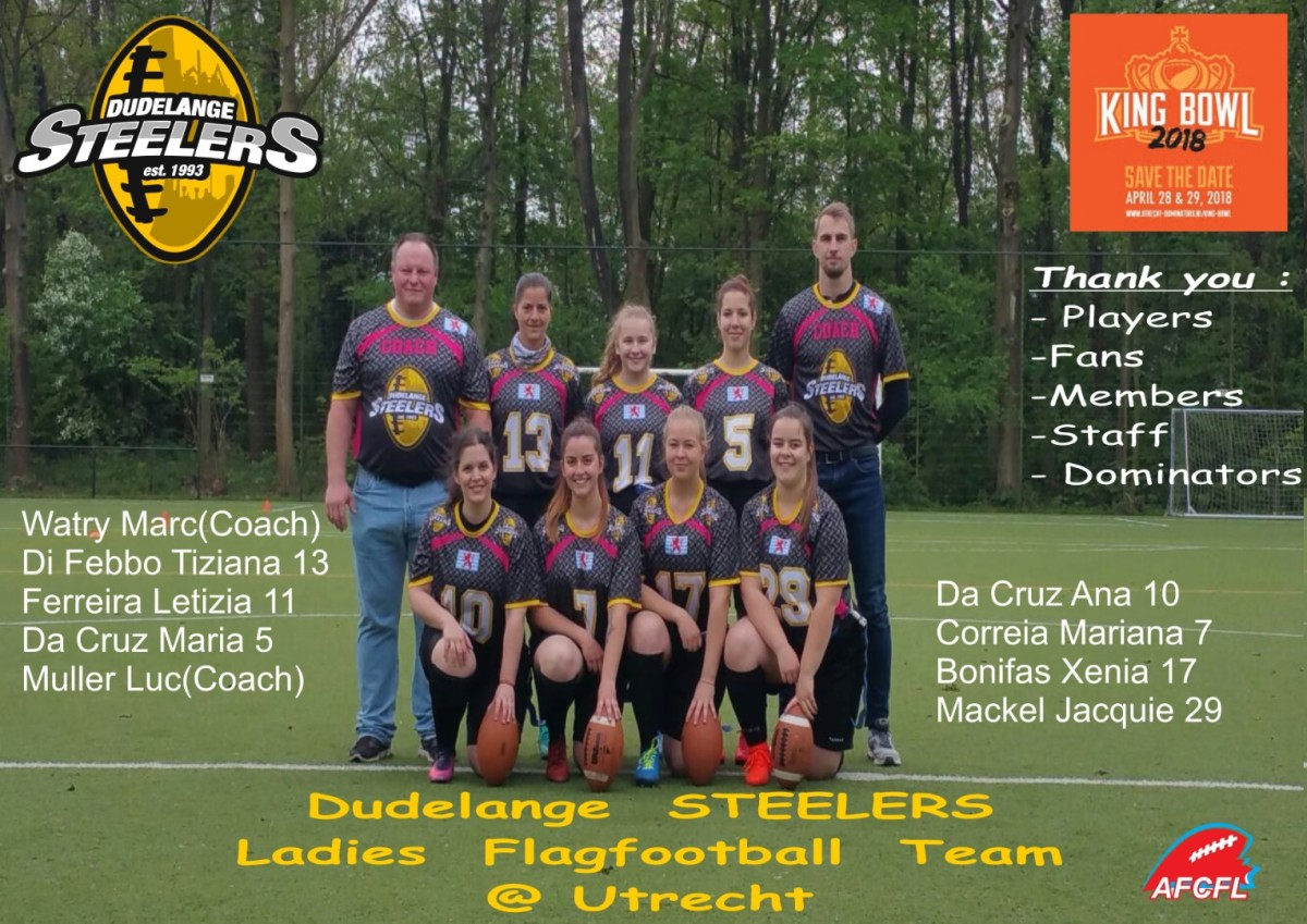Steelers Ladies Flagfootball @ Utrecht