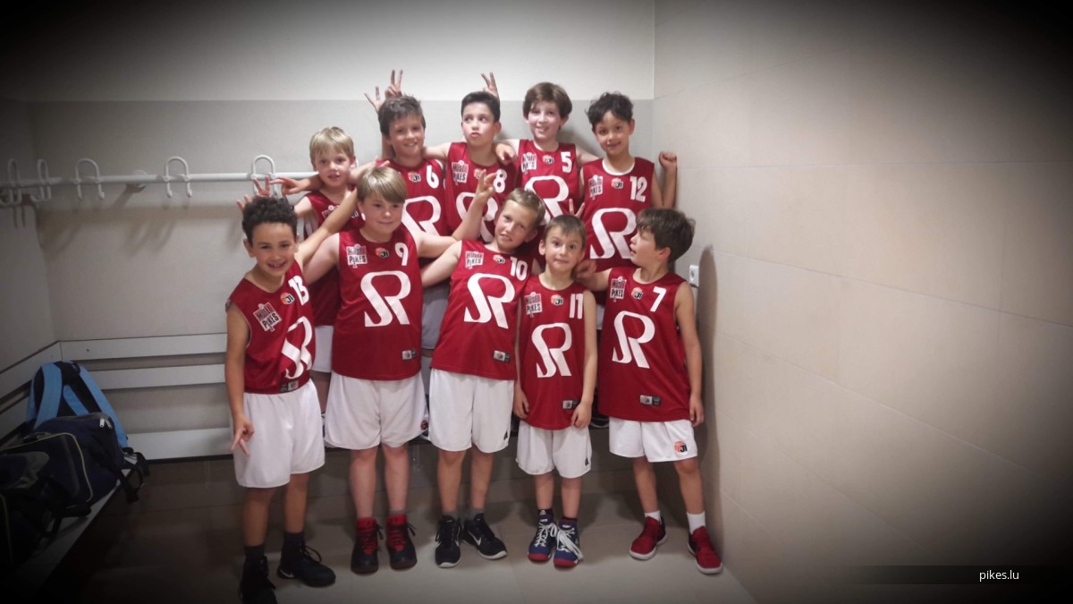 10.05.2018 Journée Poussins Basket zu Zolwer