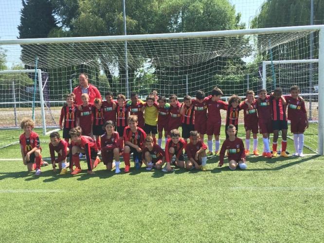 06.06.2015: FC Metz - FC UNA Strassen (U9 & U11)