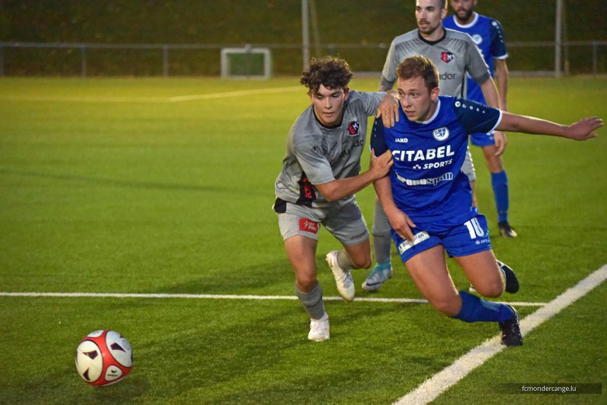 FC Mondercange II - CS Sanem II 2:1 interrompu après 38 min