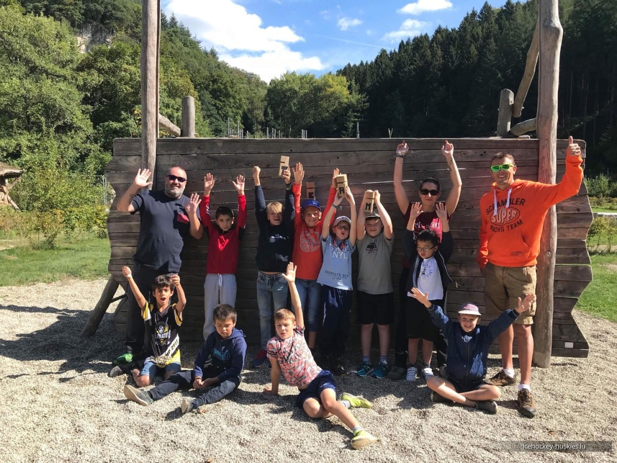 U11 TEAM BUILDING DAY AT SNJ MARIENTHAL SEPT 8TH