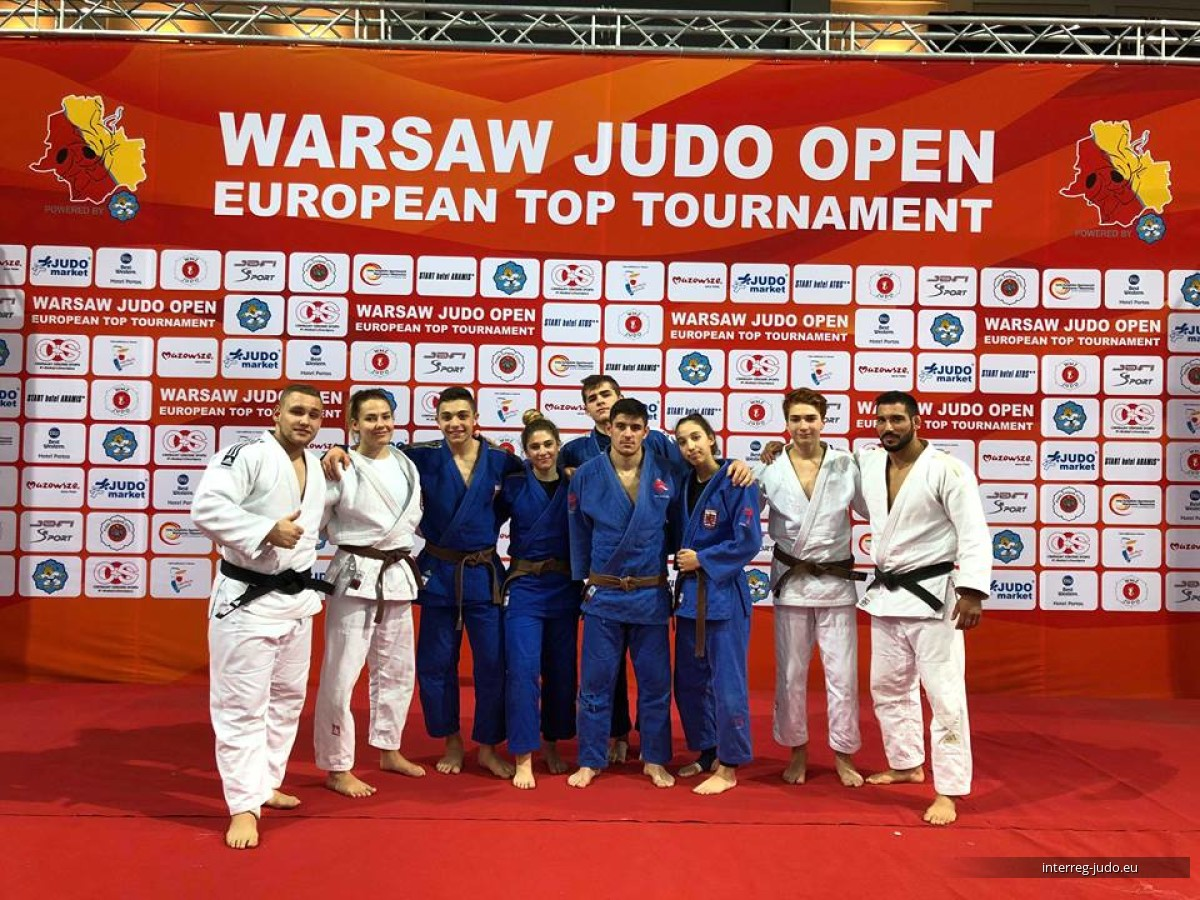 Warsaw Judo Open 2018 - Interreg Judo Team