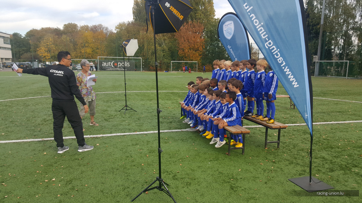 Making Of - Photo Officielle Racing Académie
