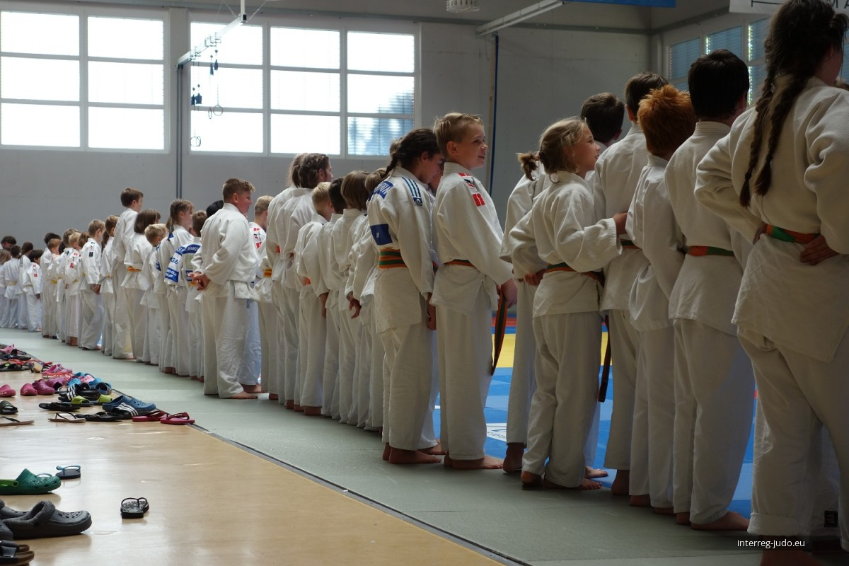 Interreg Judo Training - Speyer 13.10.2018