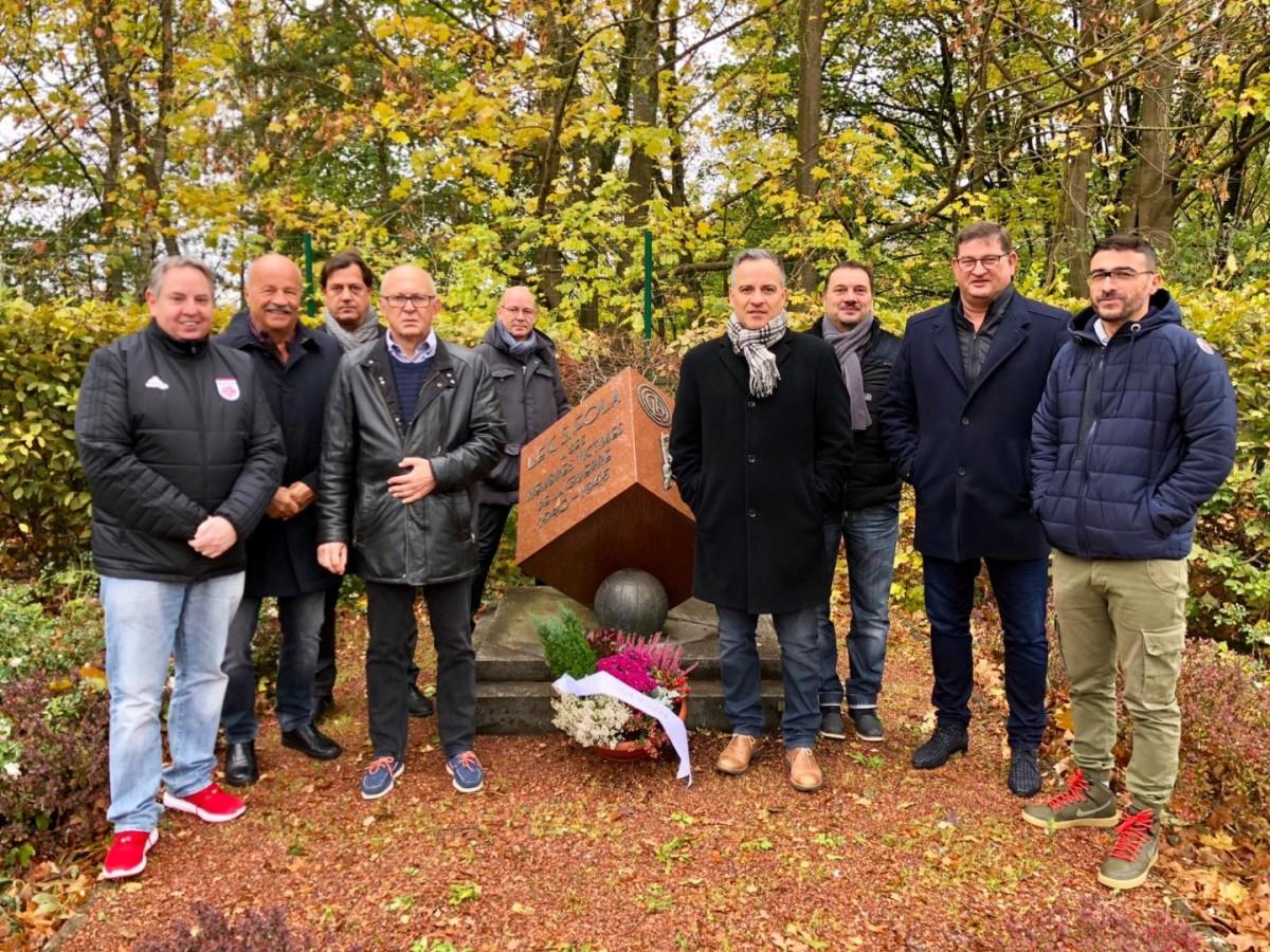 Commémoration du CS FOLA au Stade Emile Mayrisch