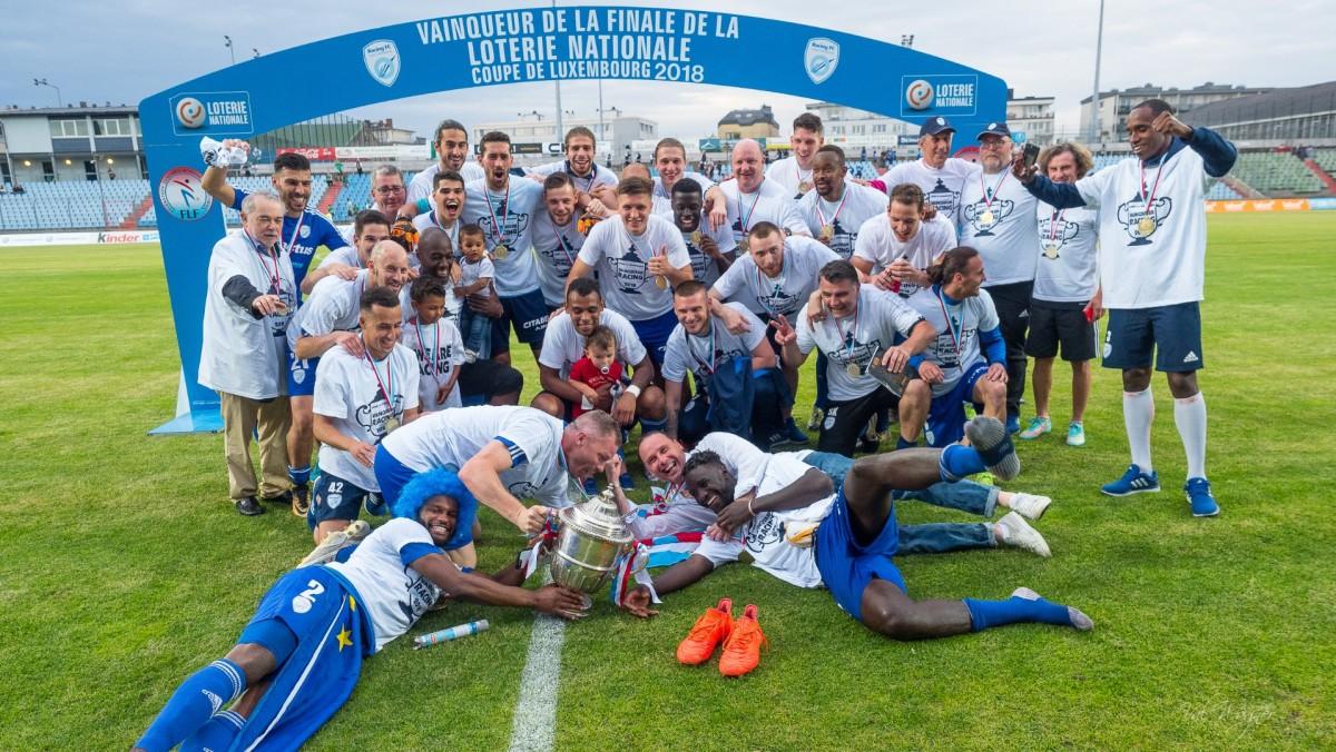 Vainqueur Coupe de Luxembourg 2018