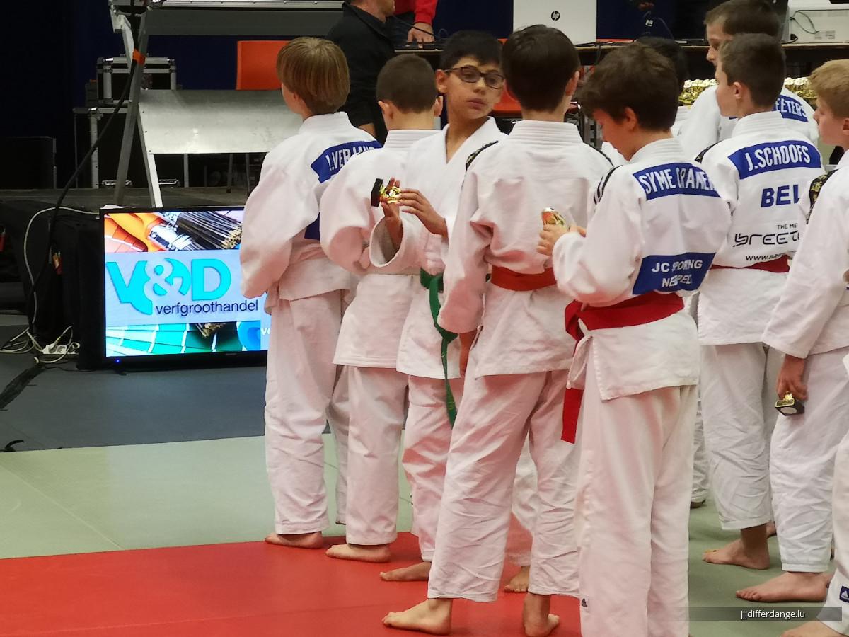 Fotoen vum Jeugdtornooi (Judo Club Zelem) U9, U11 en U13 04-Nov-18