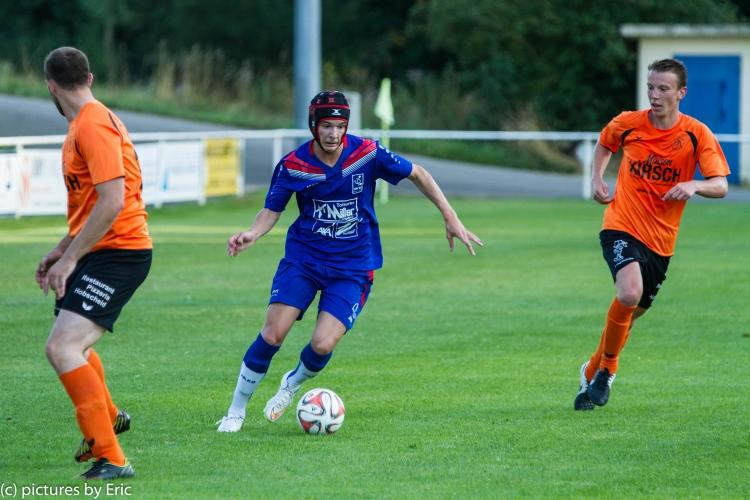 Match amical Alliance Aischdall - UN Käerjeng 0:6 (03/08/2015)