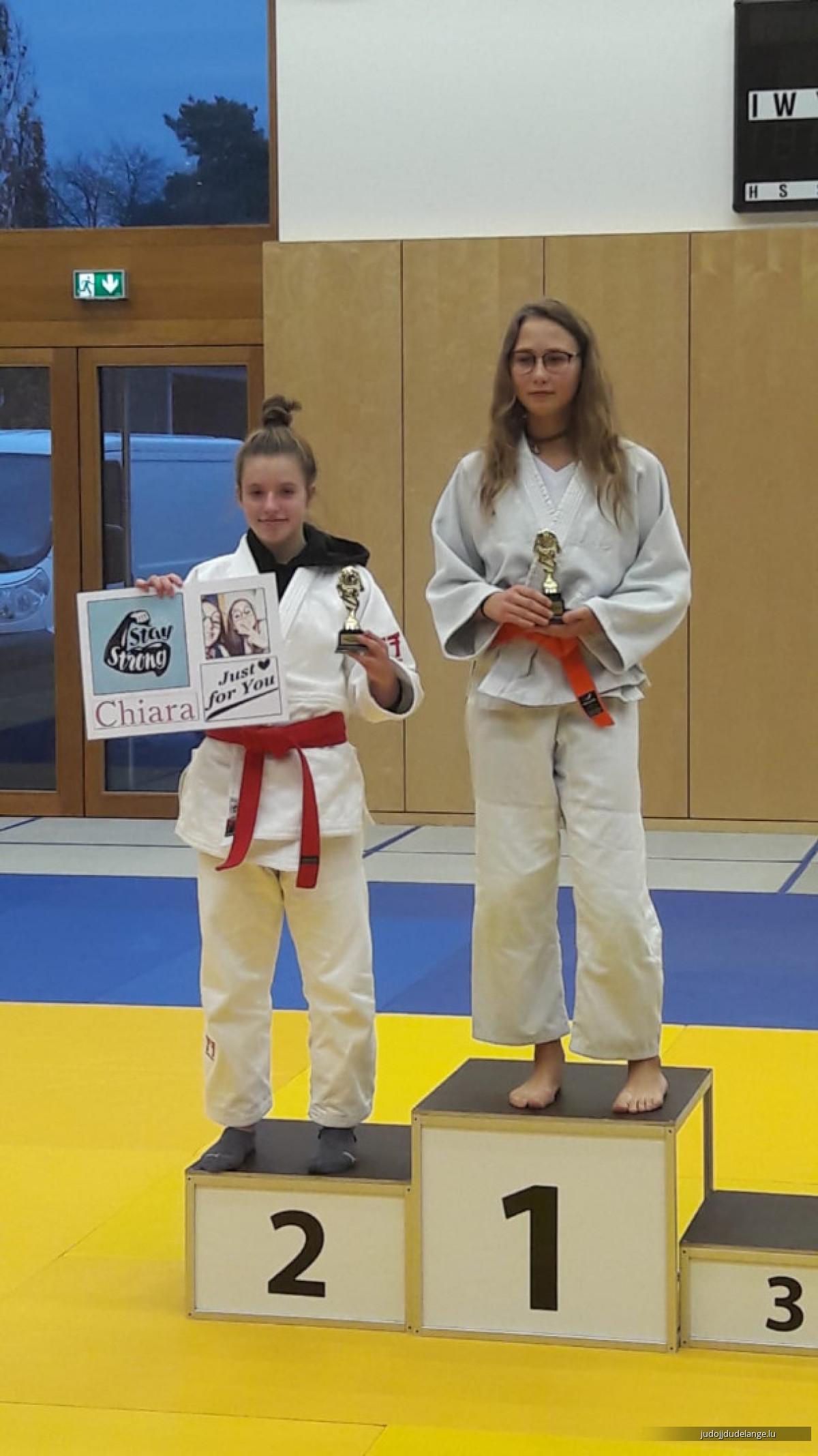 Championnats 'Elite' U15 et U18 à Beaufort, le 02.12.2018