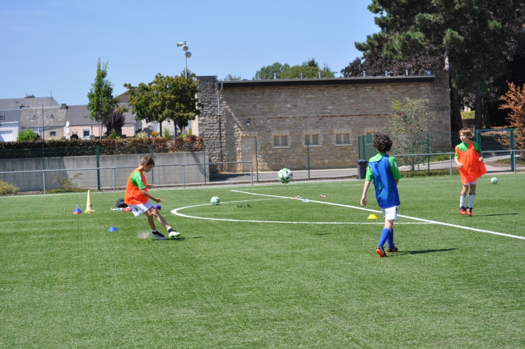 Goals and More Footballcamp zu Stroossen (03.08.15 bis 07.08.15)