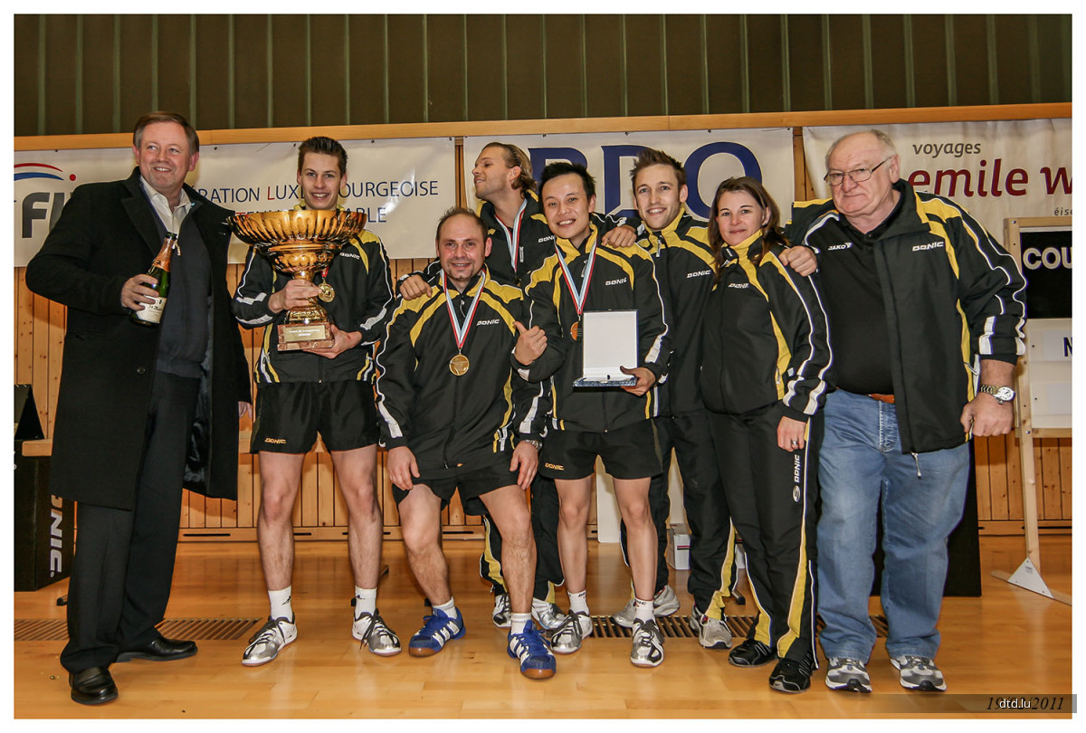 Finale Coupe de Luxembourg 19/02/2011