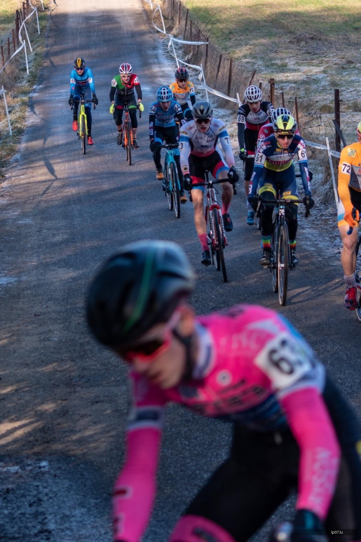 Sonnegen Aufschloss von der Cyclocross-Saison zu Leideleng