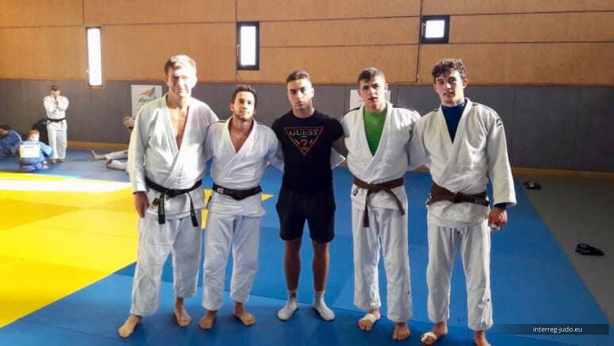 Interreg Judo Team - Pictures Int. Training Camp Marseille 16-19.12.2018