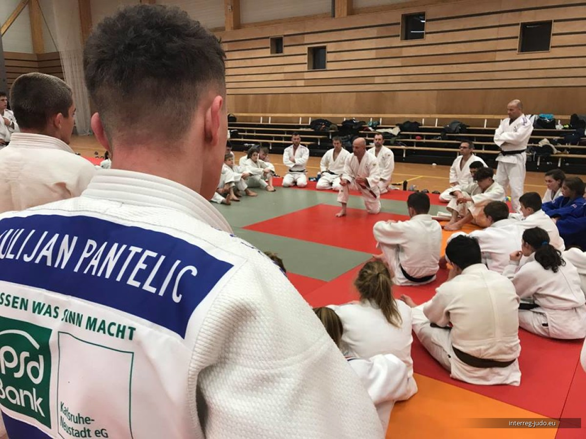 Interreg Judo Training - Pictures Contrexéville U18 & U21 - 03-05.01.2019